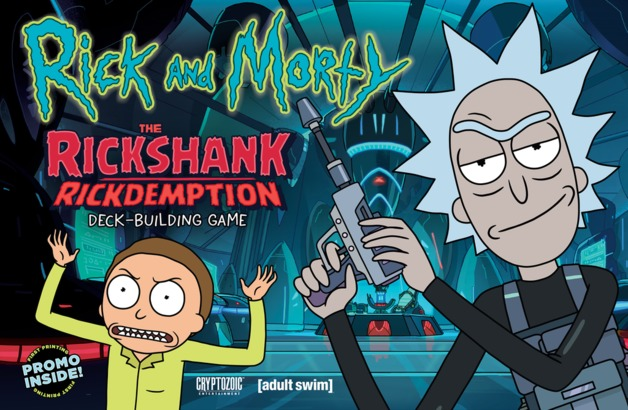 Rick and Morty: The Rickshank Rickdemption - Deck-Building Game