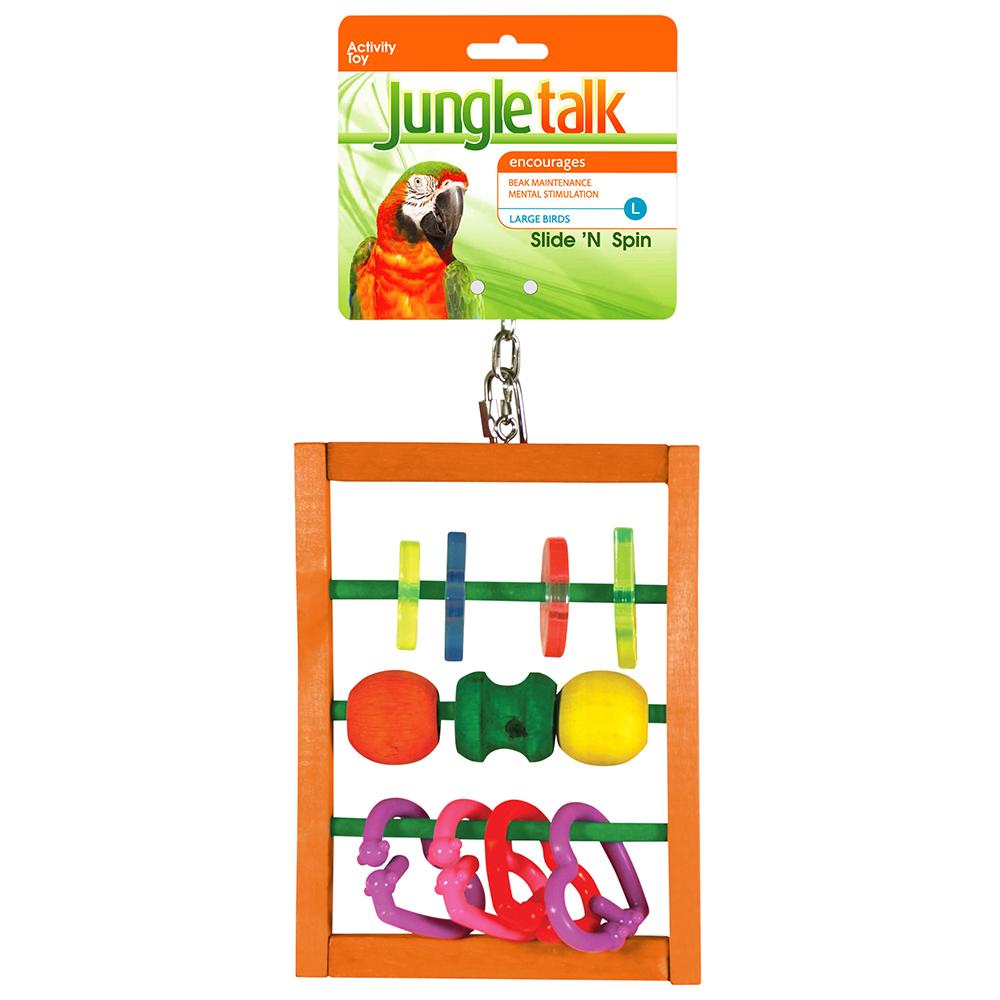 Jungle Talk: Slide N Spin - Large image
