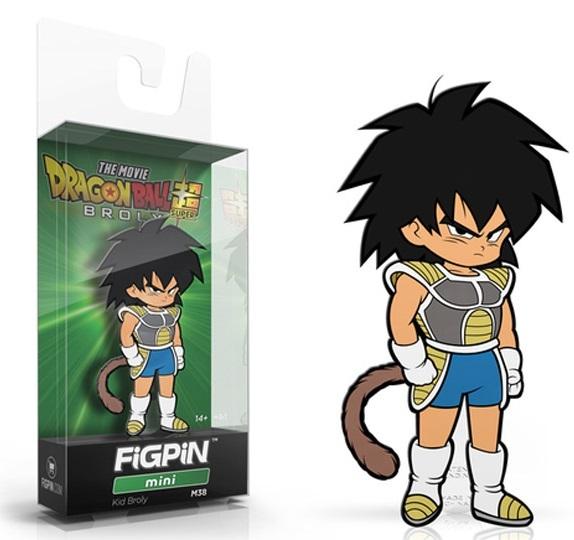 Dragon Ball Super Movie: Kid Broly (#M38) - Mini FiGPiN image