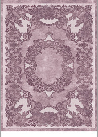Micola Light Purple Rectangular Rug 160x230cm