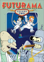 Futurama - Season 2 (4 Disc Box Set) on DVD