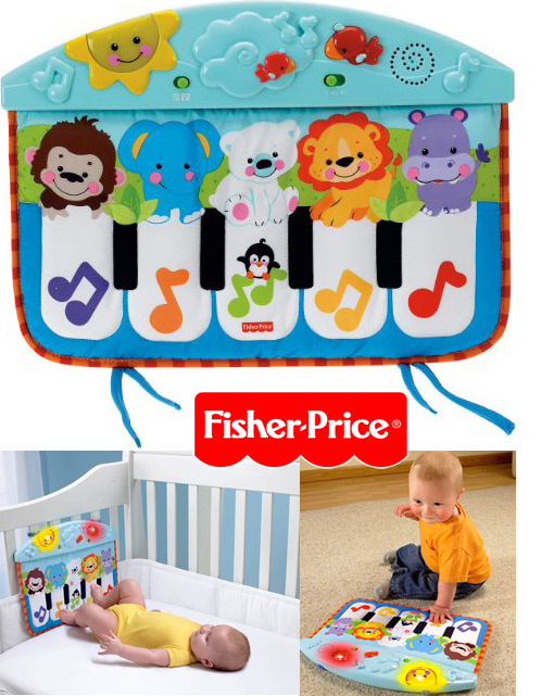 Fisher Price Kick & Play Piano (Cot & Floor) image