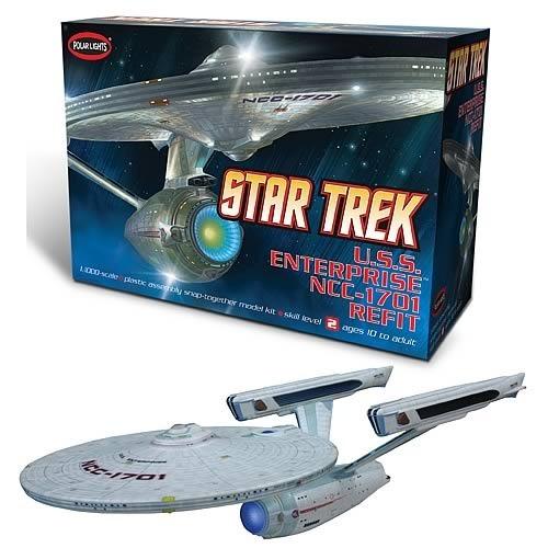 Star Trek USS Enterprise NCC-1701 Refit 1:1000 Model