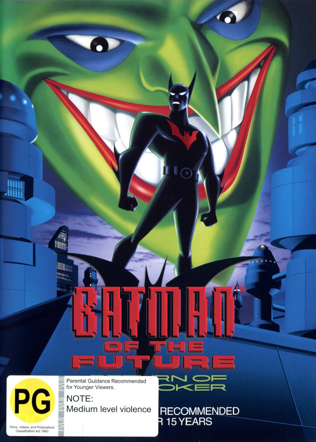 Batman Of The Future:  Return Of The Joker on DVD image