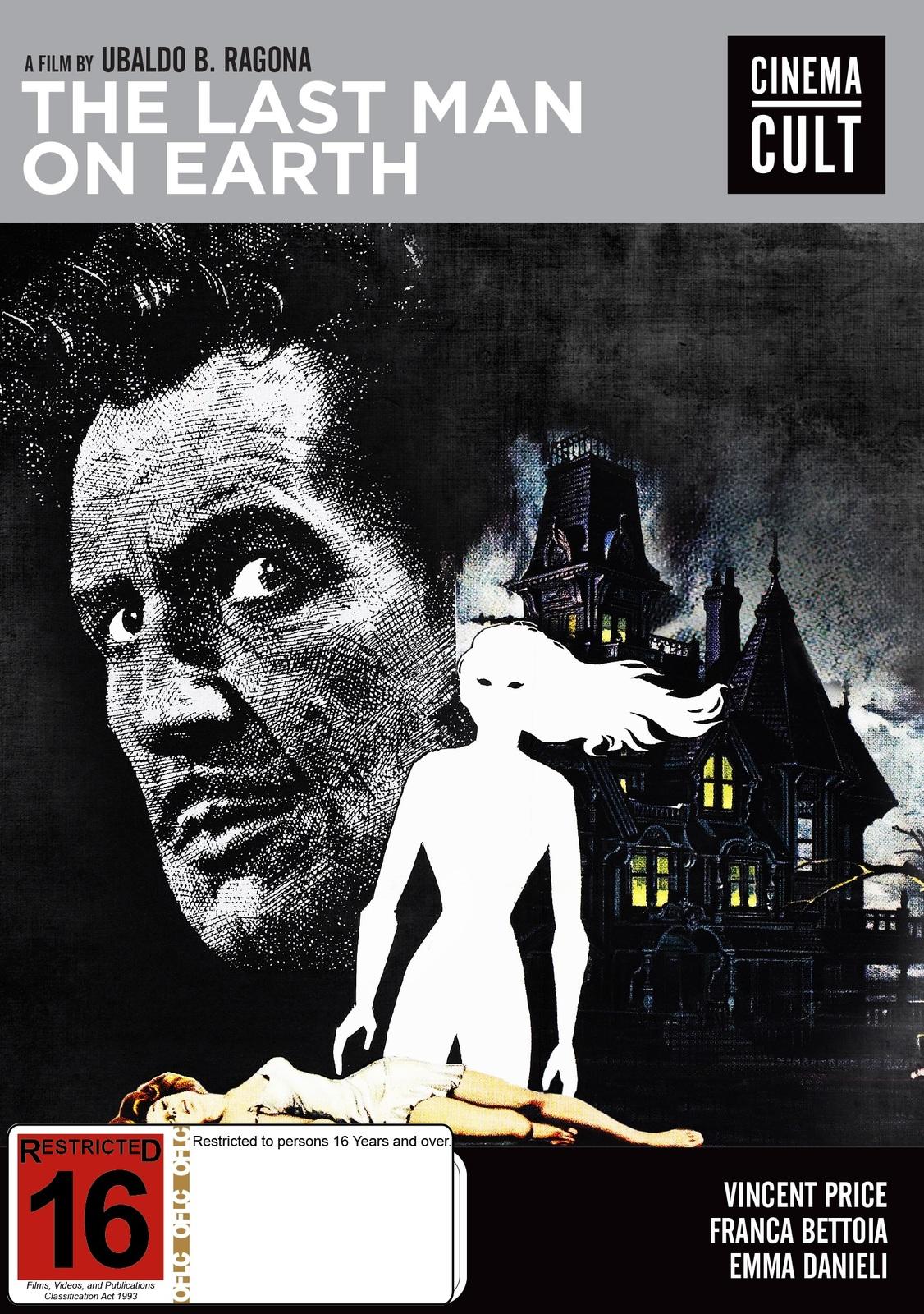 The Last Man On Earth on DVD image