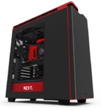 NZXT H440 Silent Mid Tower Case (Black/Red)