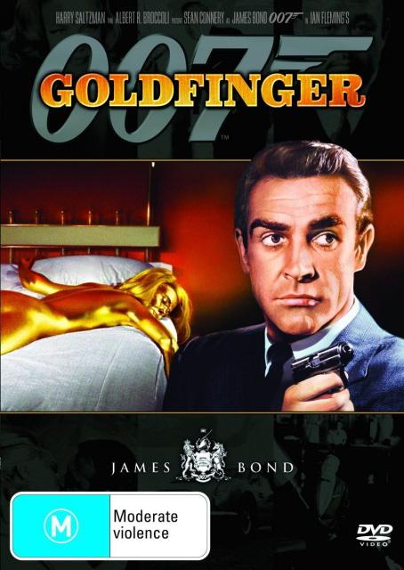 James Bond - Goldfinger on DVD image