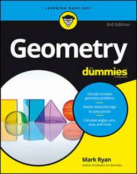 Geometry For Dummies by Mark Ryan