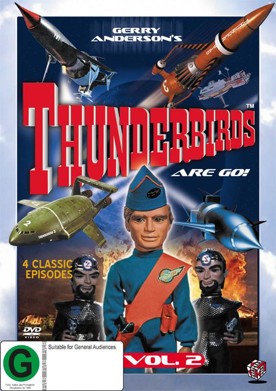 Thunderbirds Vol 2 on DVD
