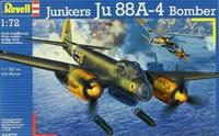 Revell: 1/72 Junkers Ju88 A-4 Bomber - Model Kit