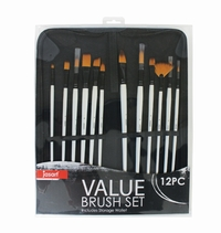 Jasart Long Handle Brush Wallet Set (12pc) image