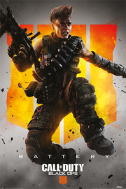 Call Of Duty Black Ops 4 Maxi Poster - Battery (889)
