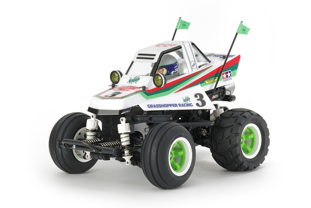 Tamiya: RC Comical Grasshopper (WR-02CB Chassis)