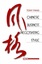 Chinese Business Negotiating Style by Tony Fang image