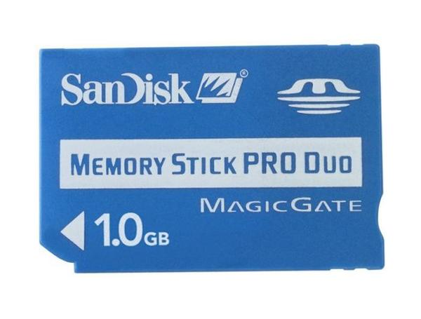SanDisk Memory Stick Pro Duo 1 GB image