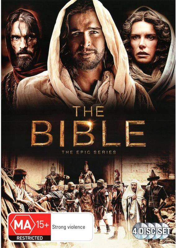The Bible: The Epic Series on DVD