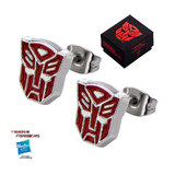 Transformers: Red Autobot Stud Earrings