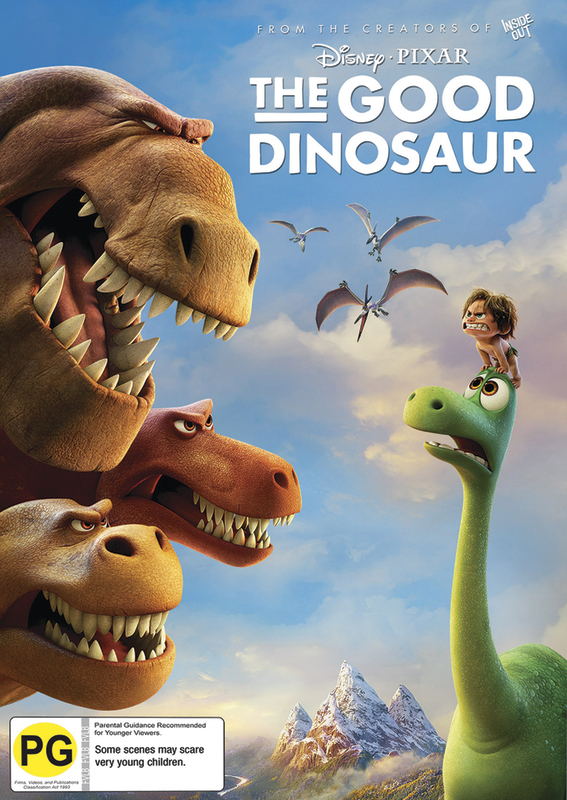 The Good Dinosaur on DVD