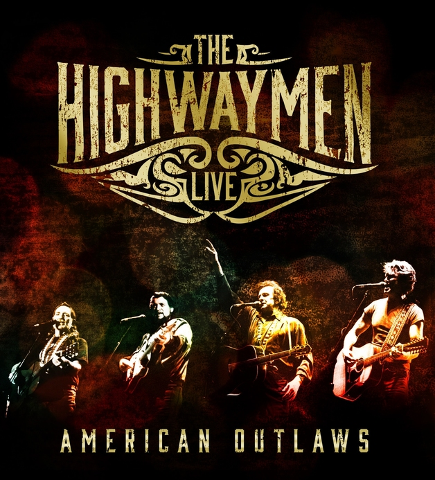 Live: American Outlaws (3CD/BluRay) on CD by The Highwaymen (Country)