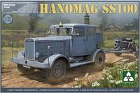 Takom: 1/35 Hanomag SS100, WWII German Tractor Model Kit