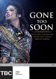 Gone Too Soon on DVD