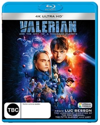 Valerian And The City Of A Thousand Planets on UHD Blu-ray