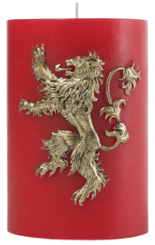 Game Of Thrones: Sculpted Insignia Candle - House Lannister