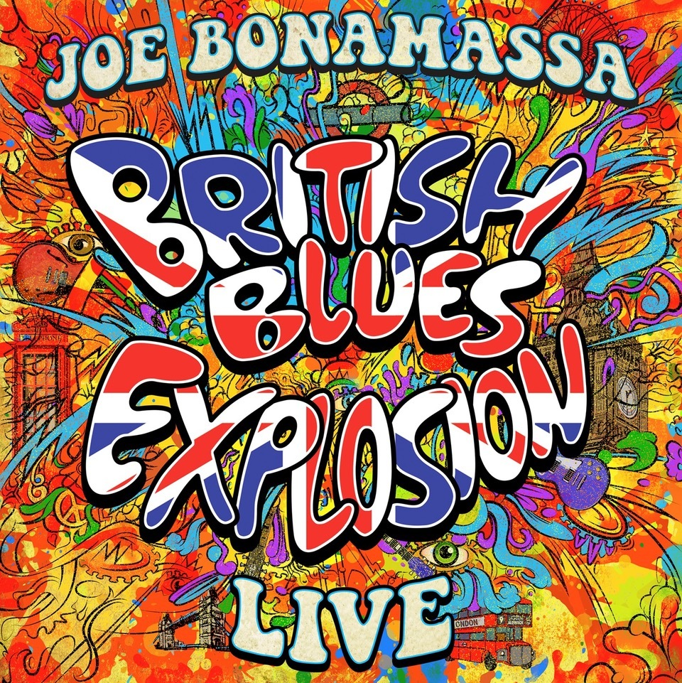 British Blues Explosion Live (Blu-ray) by Joe Bonamassa image