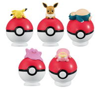 Pokemon: Tamanori Collection [Balancing on a Ball] - Mini-Figure (Blind Box)