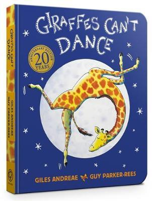 Giraffes Can't Dance Touch-and-Feel Board Book by Giles Andreae image
