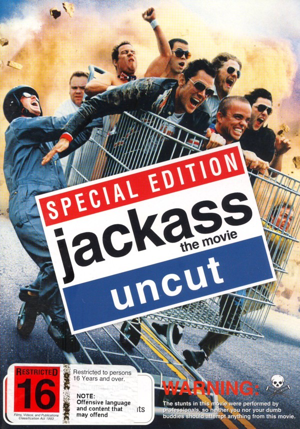 Jackass - The Movie Uncut on DVD image