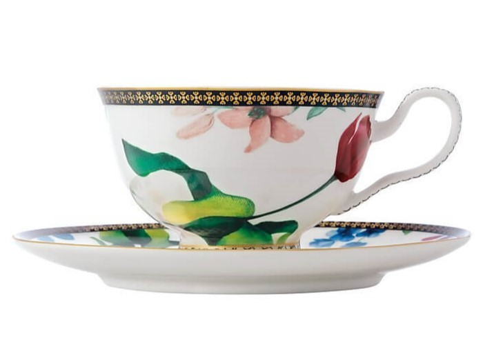 Maxwell & Williams Teas & C's Contessa Footed Cup & Saucer 200ML White image
