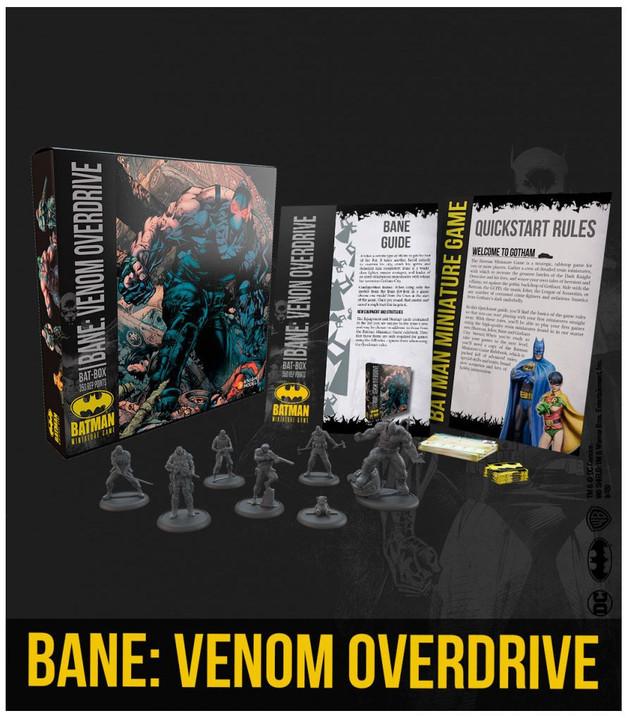 Batman: Miniatures Game - Bane's Venom Overdrive Bat Box Set