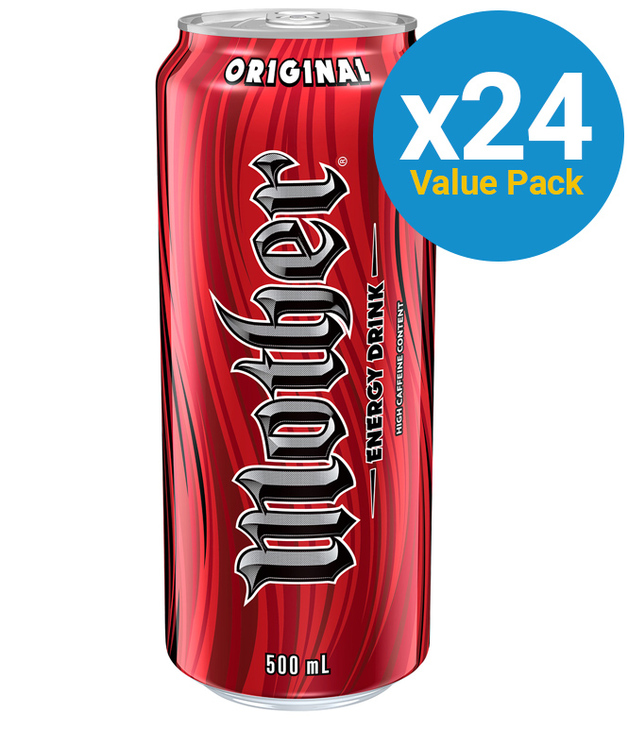 Mother Energy Drink Can 500ml (24 Pack)