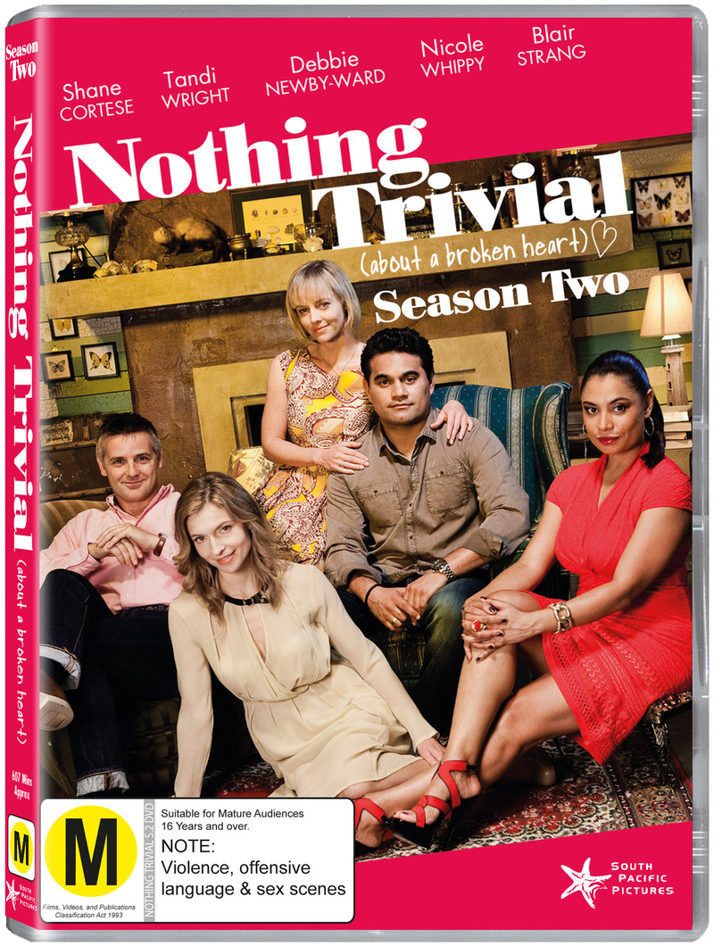 Nothing Trivial - Series 2 on DVD image