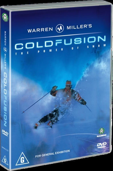 Warren Miller's - Cold Fusion on DVD