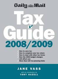 """Daily Mail"" Tax Guide: 2008/09 by Jane Vass image"
