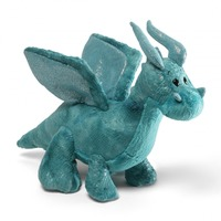 Gund: Rubble Teal Dragon Plush