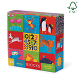 Crocodile Creek: Jumbo Block Set Kids World - 9pc