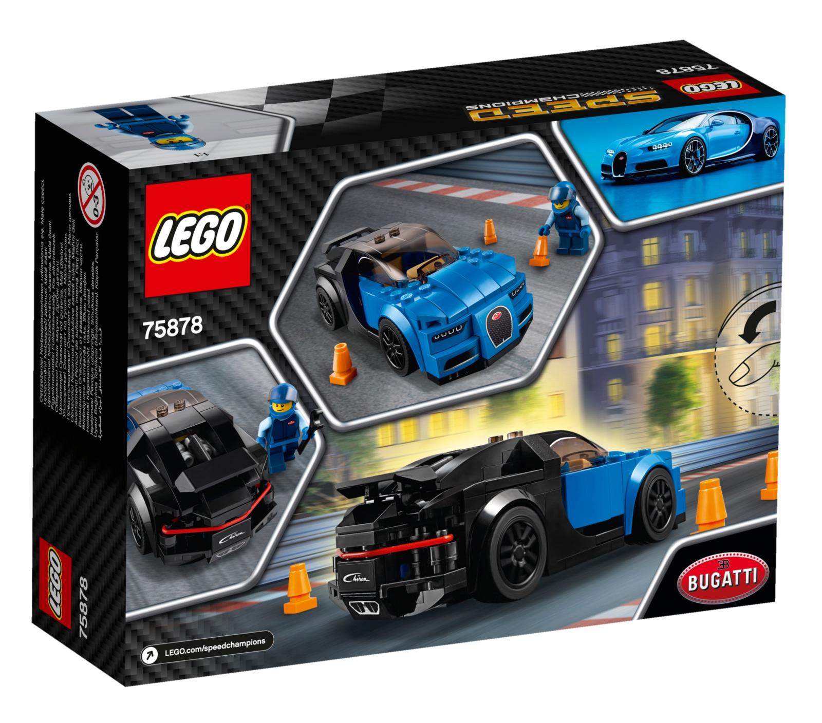 LEGO Speed Champions - Bugatti Chiron (75878) image