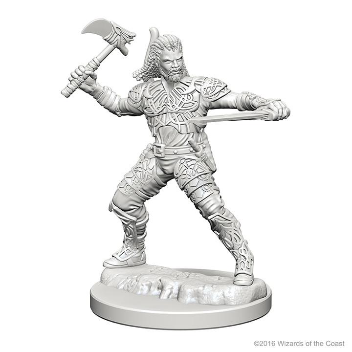 D&D Nolzurs Marvelous: Unpainted Minis - Human Male Ranger image