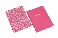 Willow & Rose - Set of 2 Notebooks (Pink)