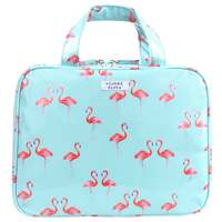 Wicked Sista Medium Hold All Cosmetic Bag - Flamingo
