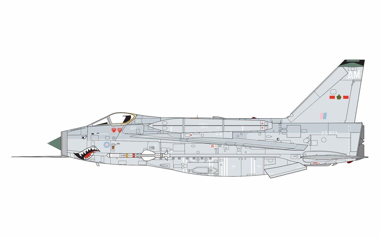 Airfix English Electric Lightning F6 1:72 - Model Kit image