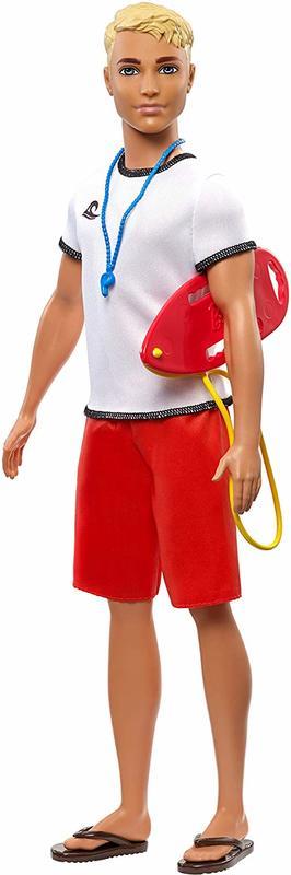 Barbie Careers - Lifeguard Ken Doll