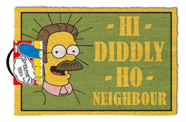 The Simpsons: 'Hi Diddly Ho Neighbour' Door Mat