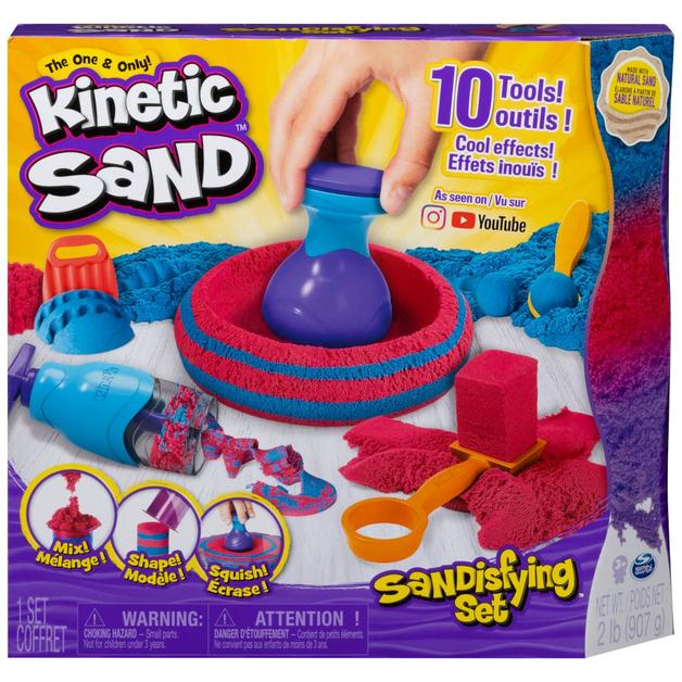 Kinetic Sand - Sandisfying Playset
