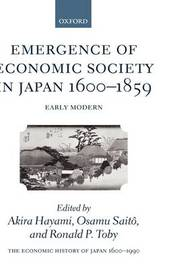 The Economic History of Japan:1600-1990