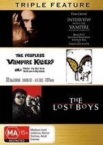 Interview With The Vampire / Fearless Vampire Killers / Lost Boys - Triple Feature (3 Disc Set) on DVD