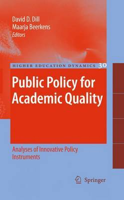 Public Policy for Academic Quality image